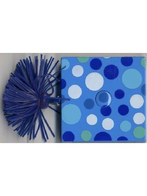 DECORATIVE TAPE MEASURE-BLUE DOTS